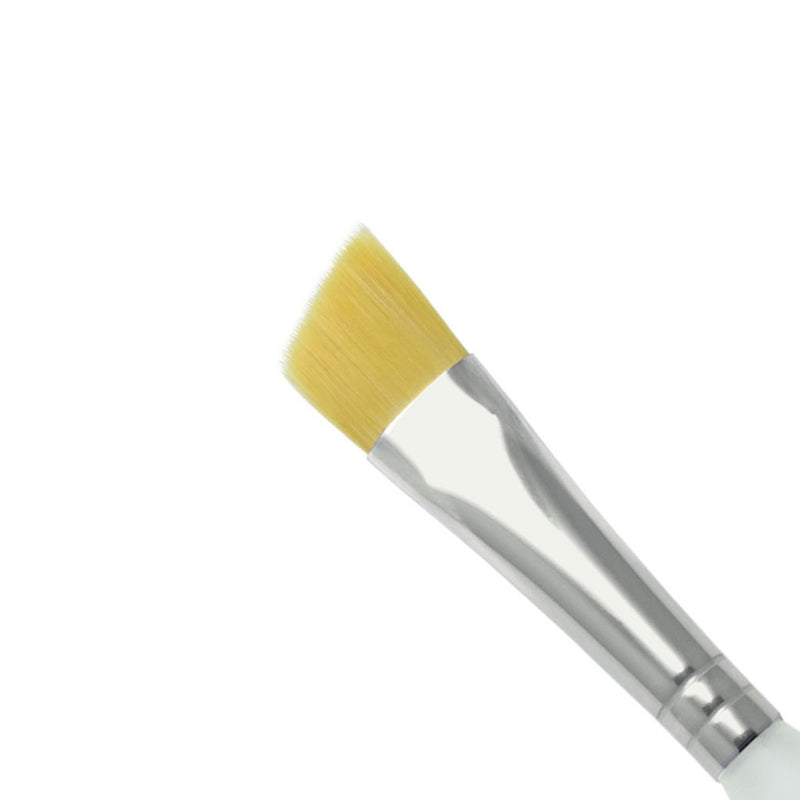 "Royal & Langnickel Soft Grip Angular 1/2"" Brush - Red Carpet FX - Professional Makeup"