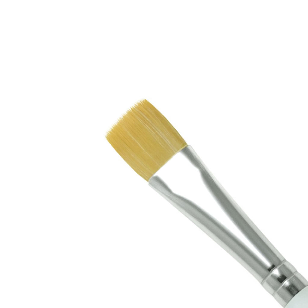 "Royal & Langnickel Soft Grip Glaze Wash 1/2"" Brush - Red Carpet FX - Professional Makeup"
