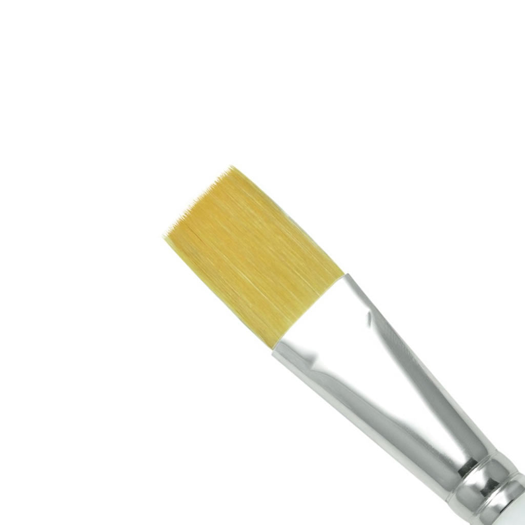 "Royal & Langnickel Soft Grip Stroke 3/4"" Brush - Red Carpet FX - Professional Makeup"