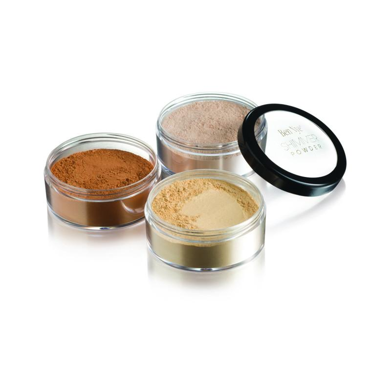 Ben Nye Shimmer Powder Dome Shaker Cameo Bronze and Banana - Red Carpet FX - Professional Makeup