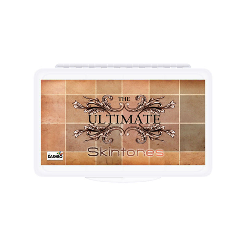 Dashbo The Ultimate 12 Colour Skintones Palette - Red Carpet FX - Professional Makeup