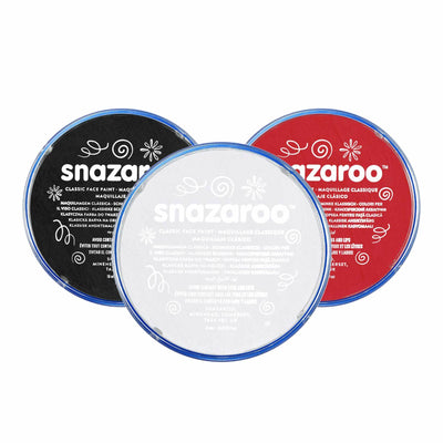 Snazaroo Classic Shades Face and Body Paint - Red Carpet FX - Professional Makeup