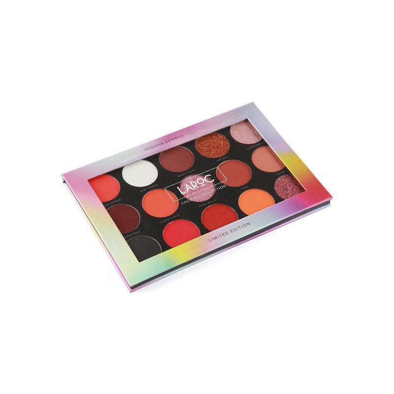 LaRoc Cocktail 15 Colour Eyeshadow Palette - Tequila Sunrise