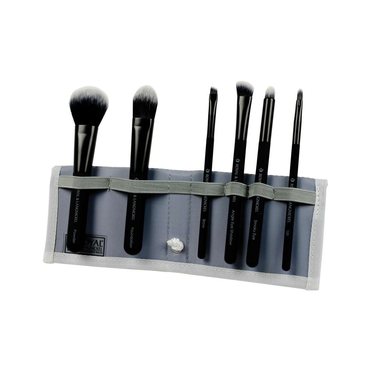 Royal & Langnickel MODA Total Face Flip Brush Kit (7pc) - Red Carpet FX - Professional Makeup