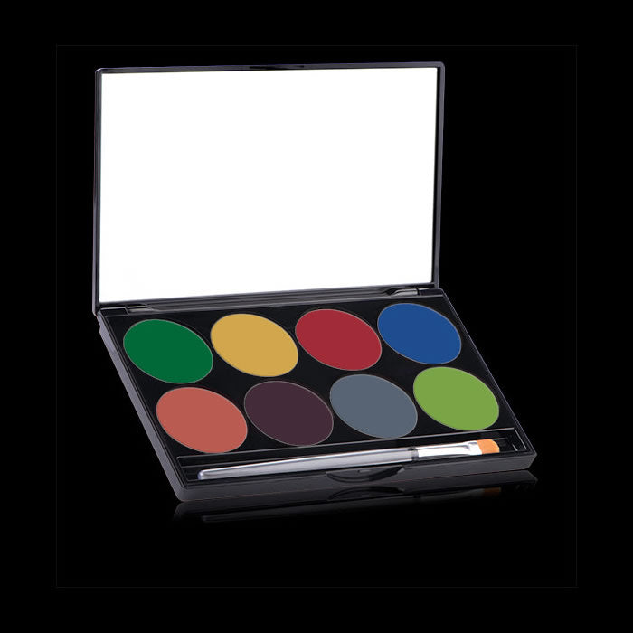 Mehron Paradise AQ Face & Body Paint Palette - Tropical
