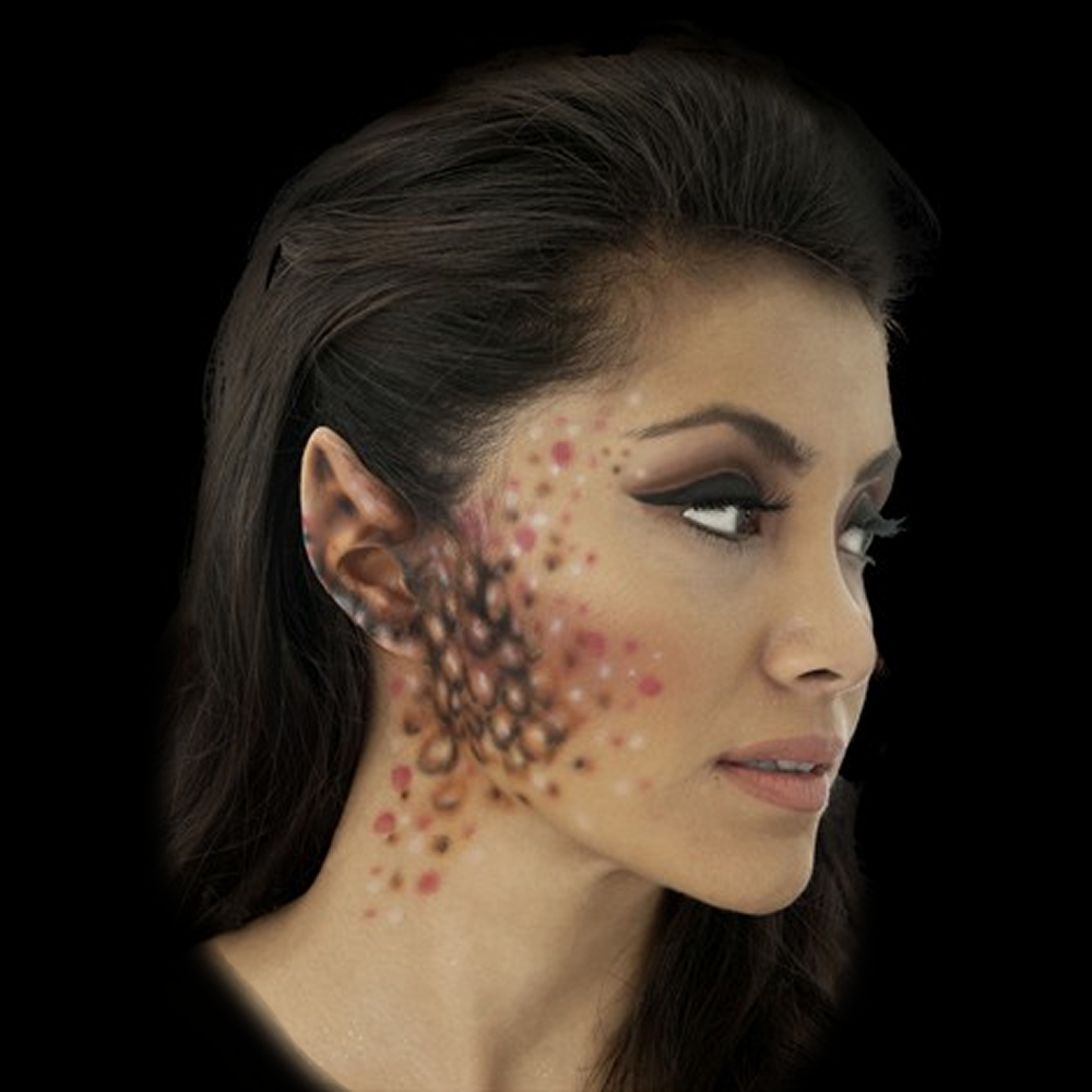 Woochie Latex Prosthetic Small Space Ear Tips - Red Carpet FX - Professional Makeup