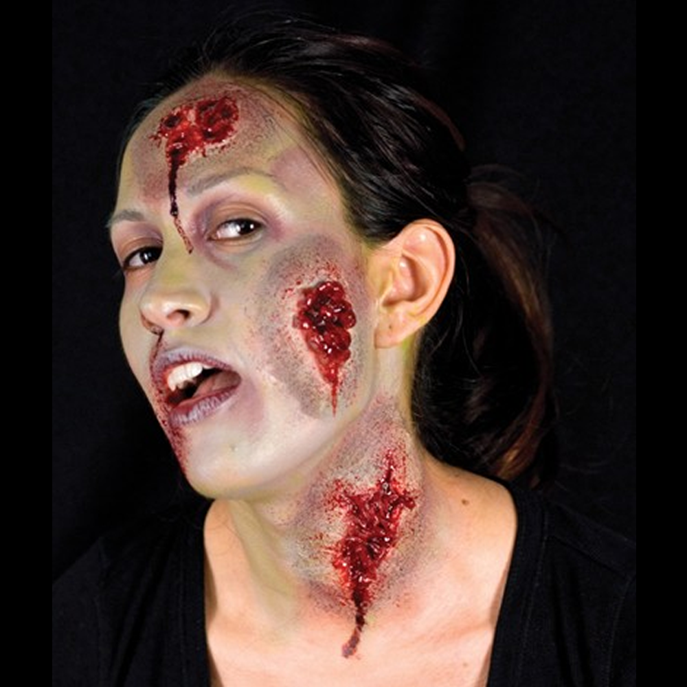 Woochie Latex Prosthetic Oozing Wound - Red Carpet FX - Professional Makeup