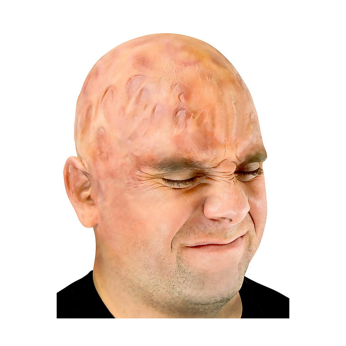 Woochie Latex Prosthetic Burned Bald Cap