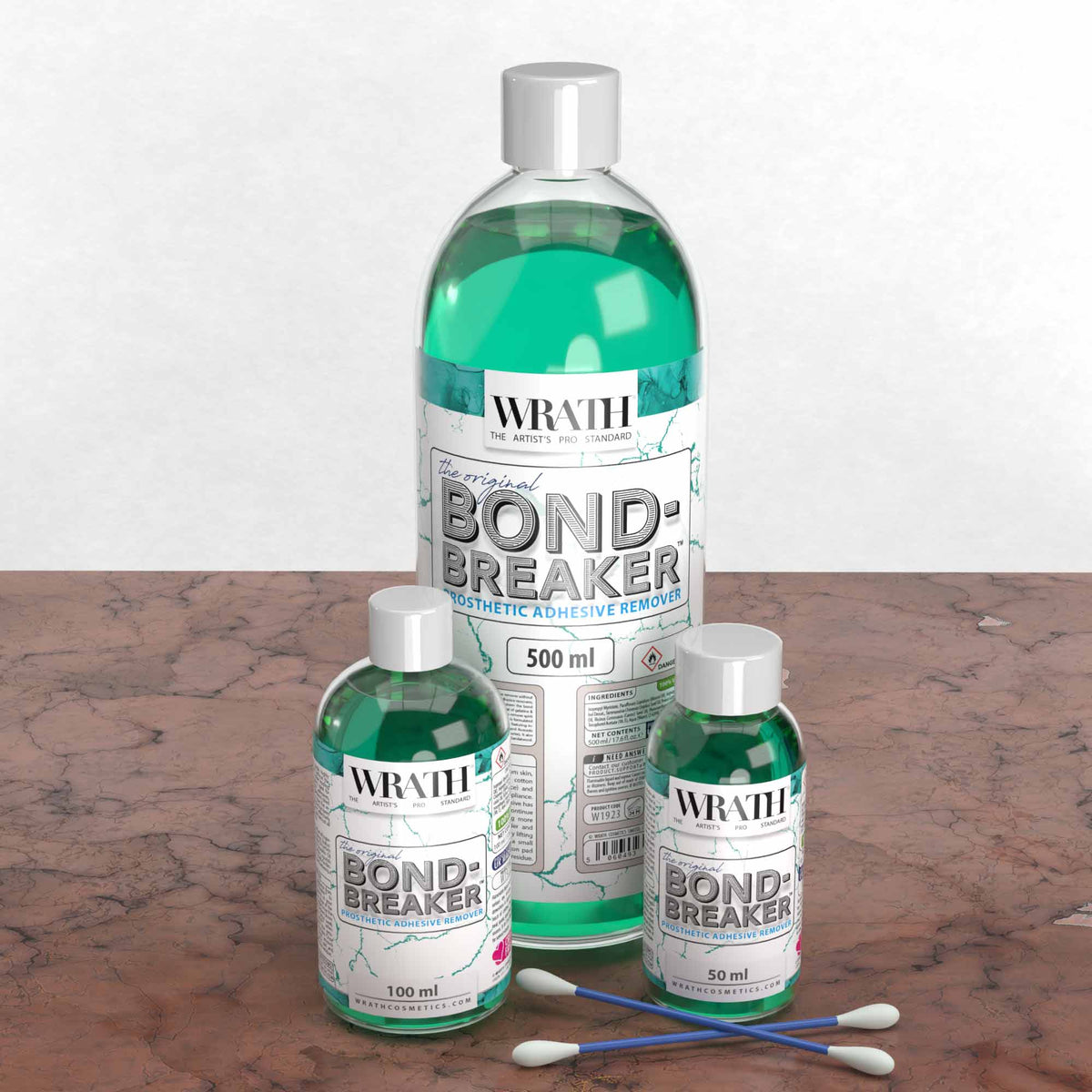 WRATH Bond-Breaker™ Prosthetic Adhesive Remover