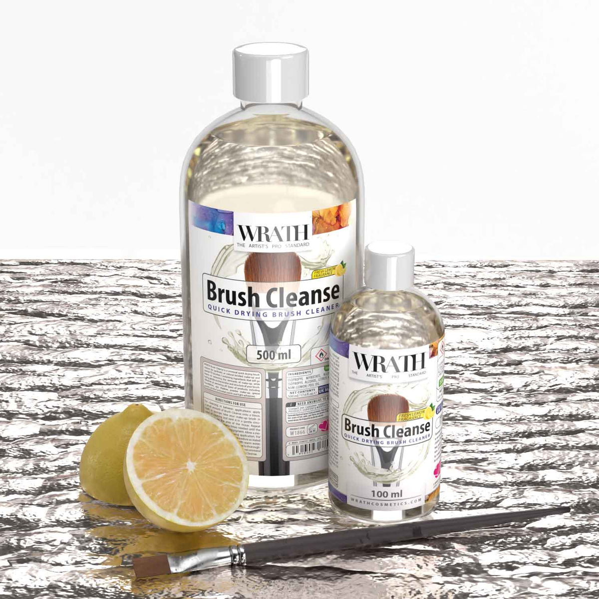 WRATH Brush Cleanse - Quick Drying Brush Cleaner