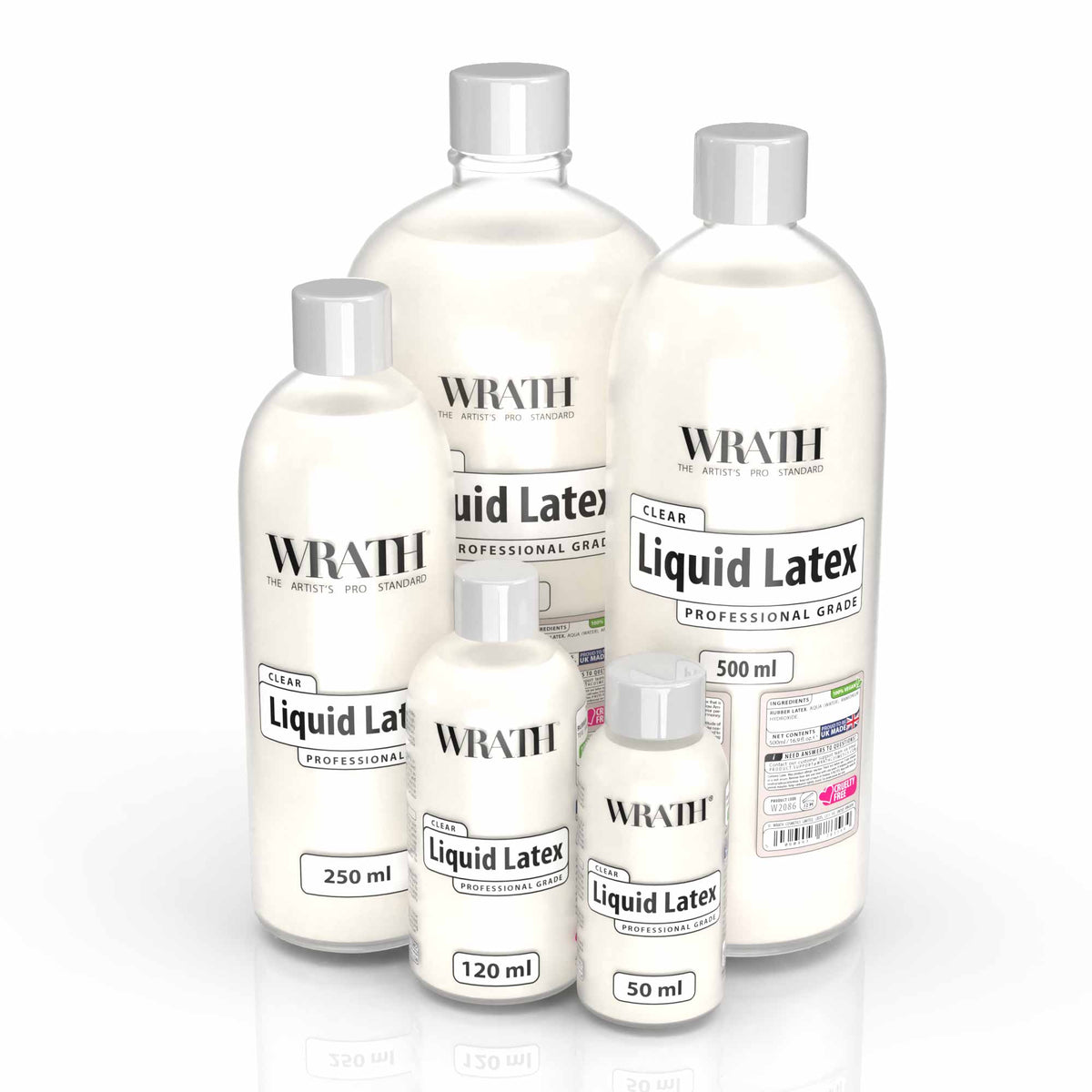 WRATH Professional Liquid Latex - Clear