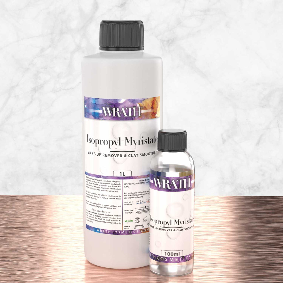 WRATH Isopropyl Myristate (Remover & Clay Smoother)