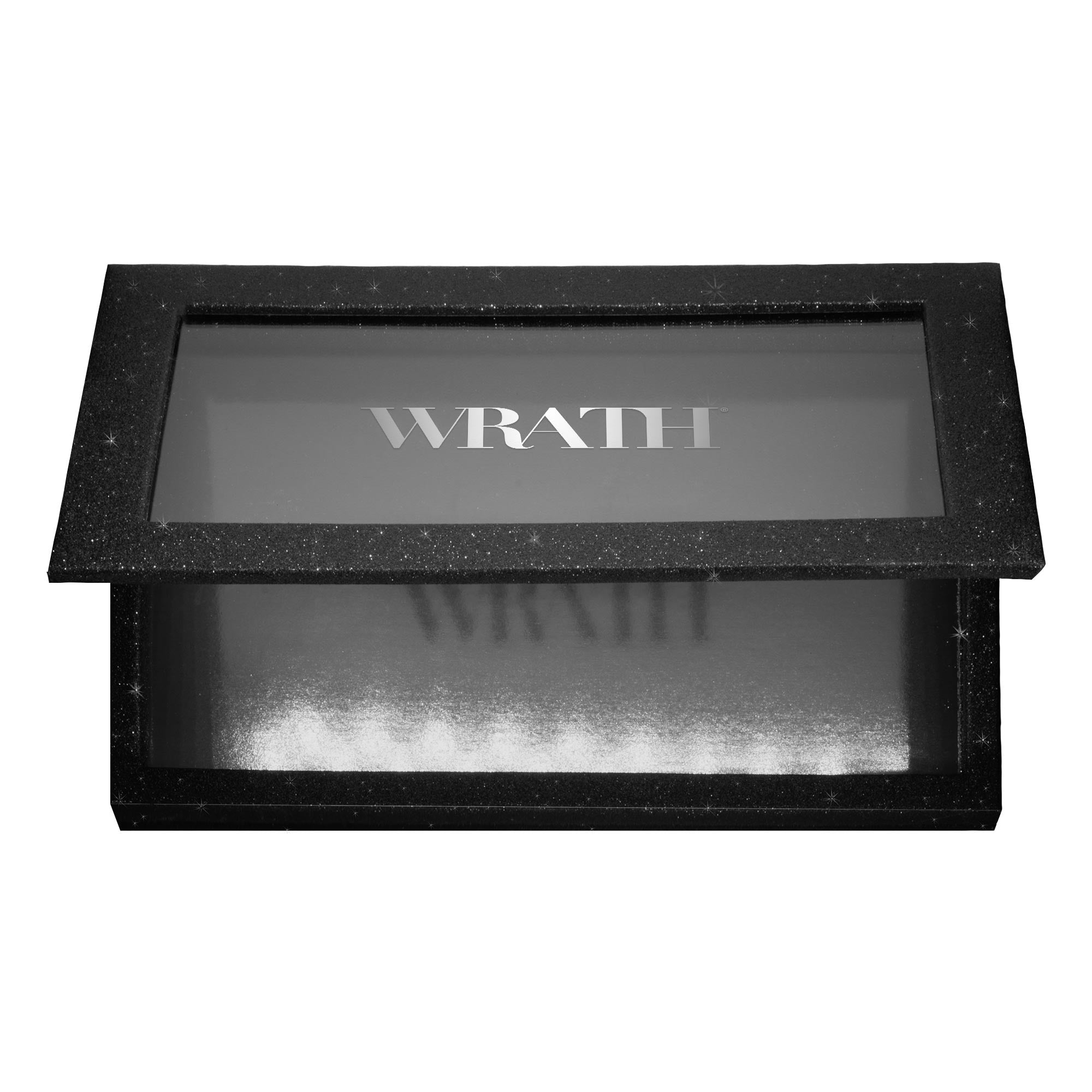 WRATH Large Magnetic Make-up Palette - Glitter Onyx