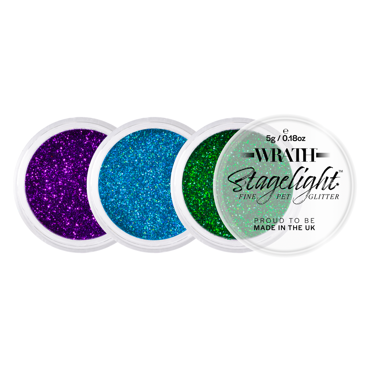 WRATH Stagelight Loose Fine Glitter - Professional Makeup - Red Carpet FX