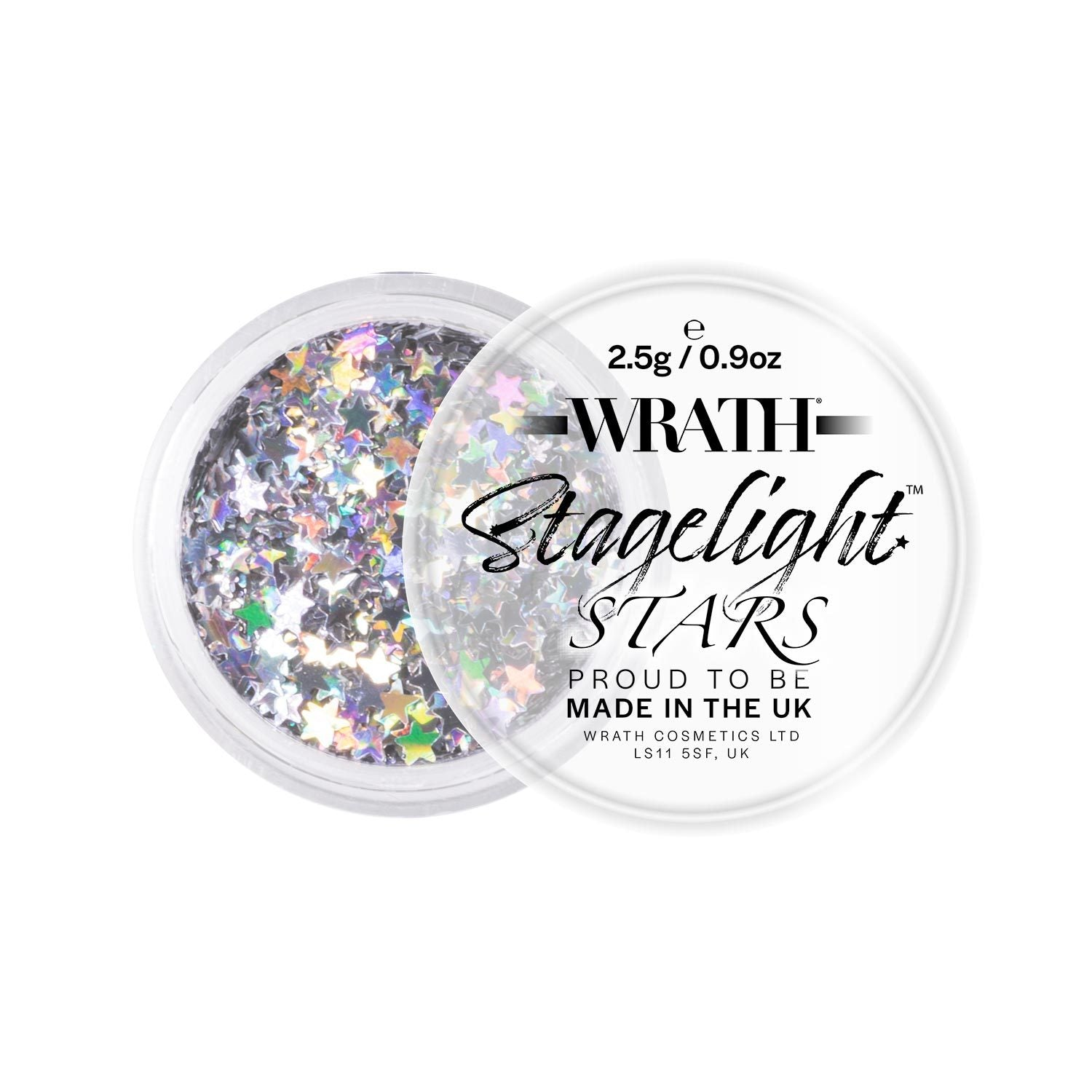 WRATH Stagelight Loose Glitter Stars - Professional Makeup - Red Carpet FX