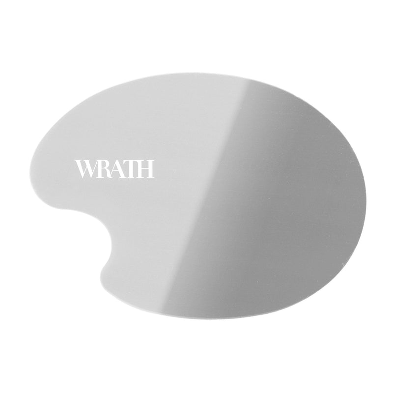 WRATH Stainless Steel Contoured Blending Palette