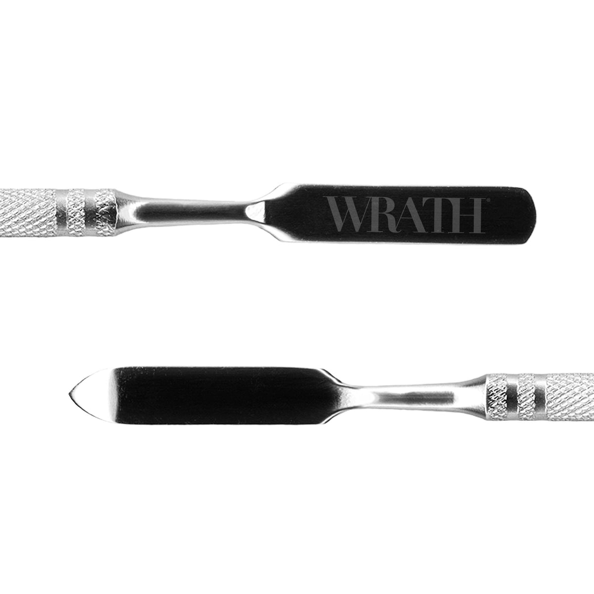 WRATH Stainless Steel Double Ended Spatula - Red Carpet FX - Professional Makeup