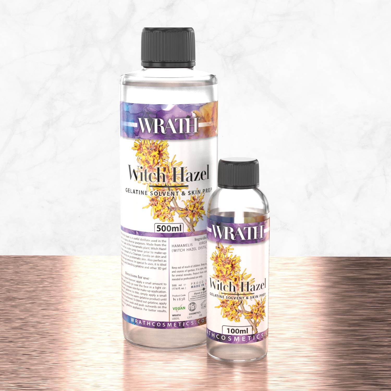 WRATH Witch Hazel Skin Prep & Gelatine Blender