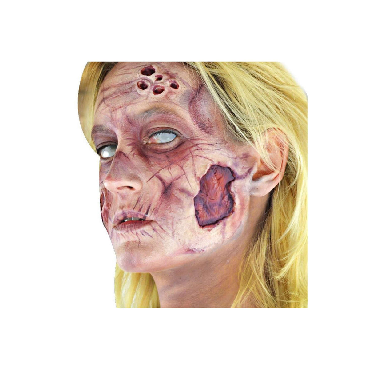 Woochie Zombie (Female) Deluxe FX Makeup Kit - Red Carpet FX - Professional Makeup