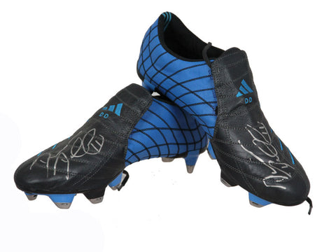 Damien Duff Signed, Match Worn Adidas Predator Boots, Premier League