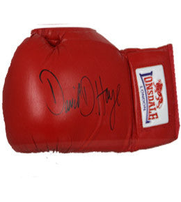 Boxing Memorabilia, Signed David Haye Boxing Gloves