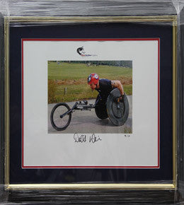 David Weir Signed Frame