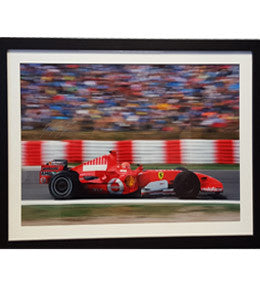 Formula 1 Memorabilia, Signed Michael Schumacher Photo, Framed