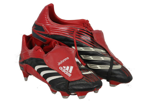 Liverpool FC, Glen Johnson Match Worn Adidas Predator Boots