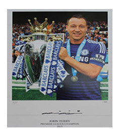 John Terry Signed Limited Edition Photo