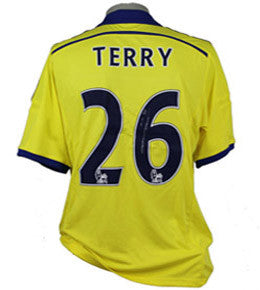 "John Terry Signed ""Terry 26"" Chelsea Away Shirt 2014/2015"