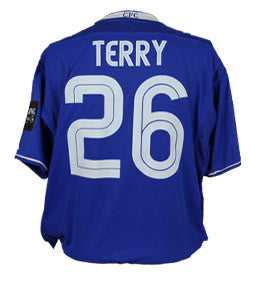 John Terry Signed, Match Issued Shirt, Carling Cup Final 2004/2005