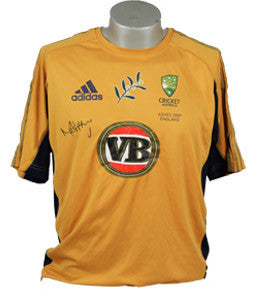 Cricket Memorabilia, Signed Match Worn Michael Hussey, Australia, Ashes 2009