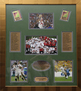 Rugby Memorabilia, England World Cup 2003 Photos, Framed
