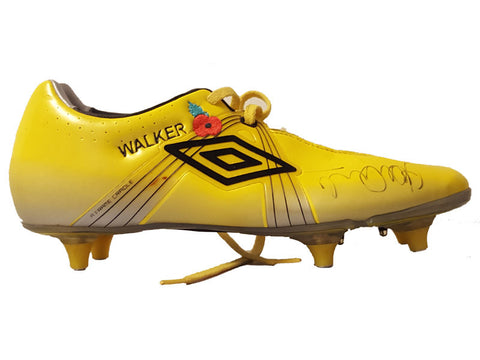 Tottenham Hotspur, Signed, Match Worn, Embroidered Poppy, Kyle Walker Boot, Premier League 2012-2013