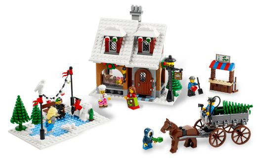 10216-1 LEGO (Used) Winter Village Bakery