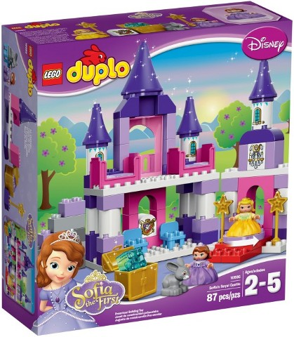 10595-1 LEGO Sofia the First Royal Castle