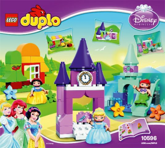 10596-1 LEGO Disney Princess Collection