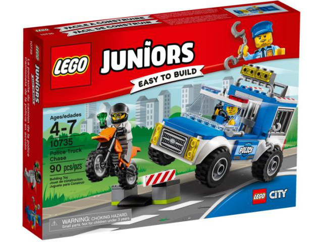 10735-1 LEGO Police Truck Chase