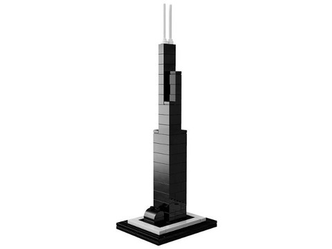 21000-2 LEGO (used) Willis Tower