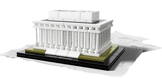 21022-1 LEGO (used) Lincoln Memorial