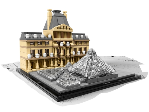 21024-1 LEGO (used) Louvre