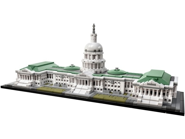 21030-1 LEGO (used) United States Capitol Building