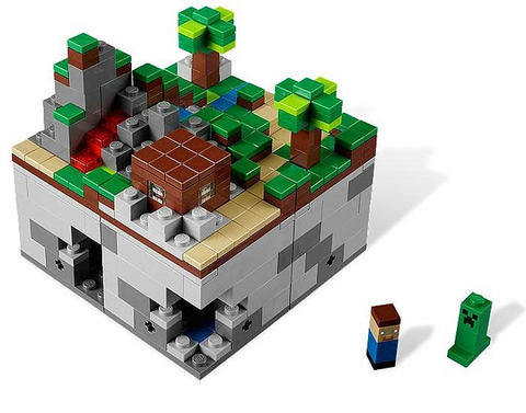 21102-1 LEGO (Used) Minecraft Micro World - The Forest