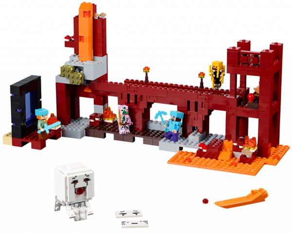 21122-1 LEGO (Used) The Nether Fortress