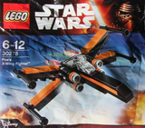 30278-1 LEGO (Used) Poe's X-wing fighter Mini polybag
