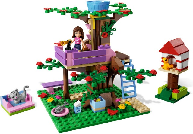 3065-1 LEGO (Used) Olivia's Tree House