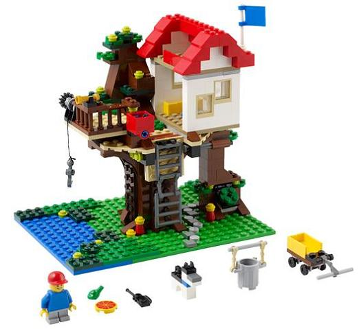 31010-1 LEGO (used) Treehouse