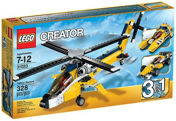 31023-1 LEGO Yellow Racers 3 in 1