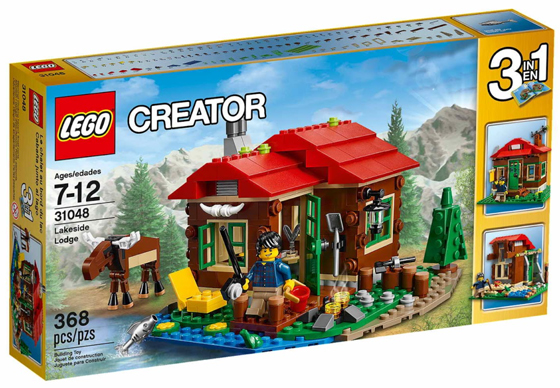 31048-1 LEGO Lakeside Lodge