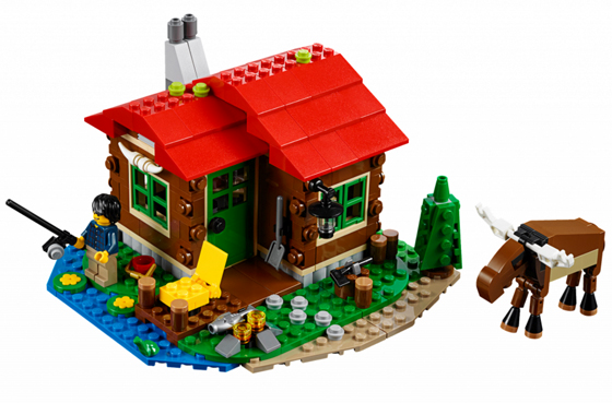 31048 LEGO (used) Lakeside Lodge